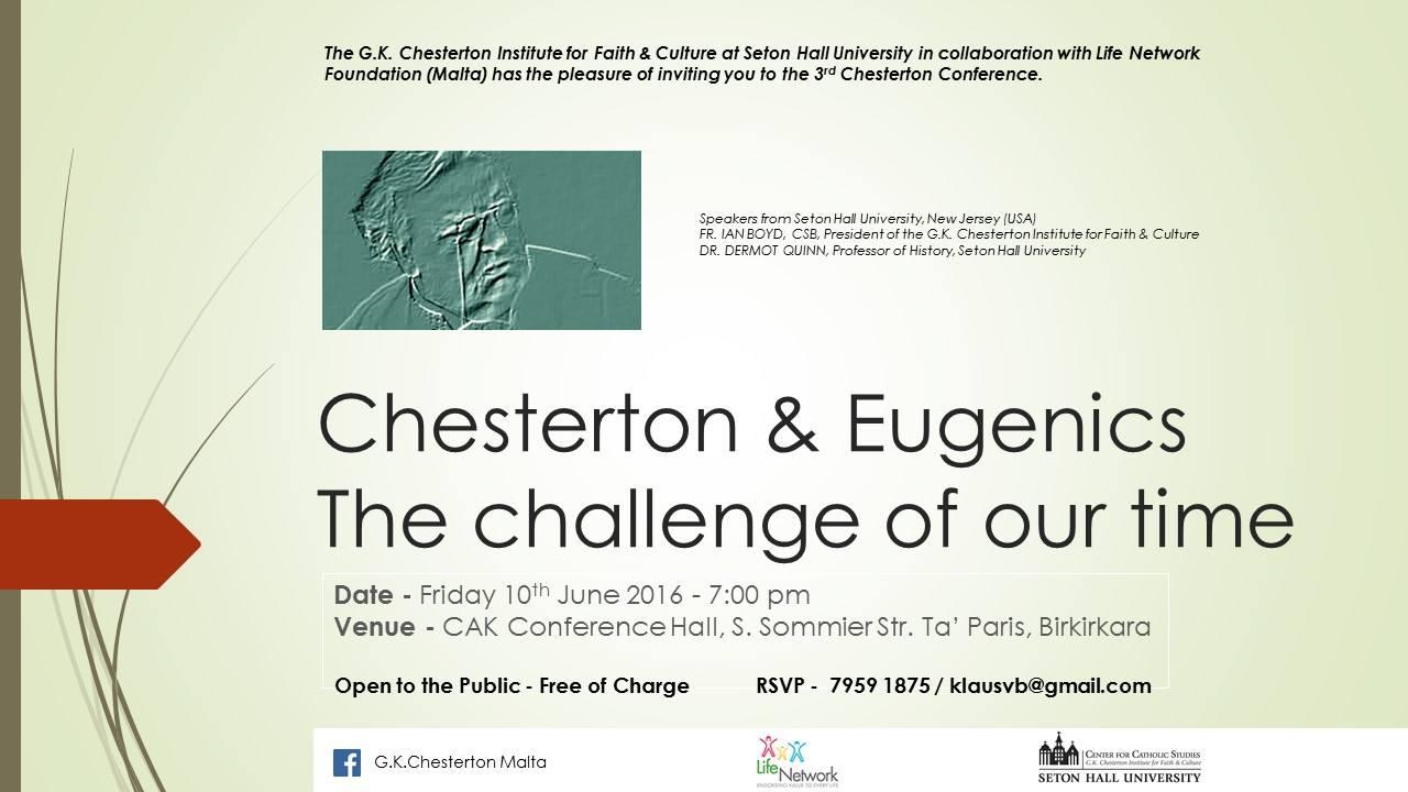 Chesterton Eugenics - Info 2