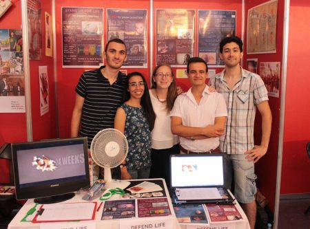 Life Network Youths Outreach at the University of Malta Freshers' Week
